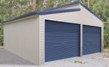 Double garage skillion