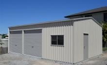 Garage with workshop