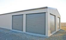 Multiple car garage