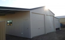 Double Shed with 2 Lean to's