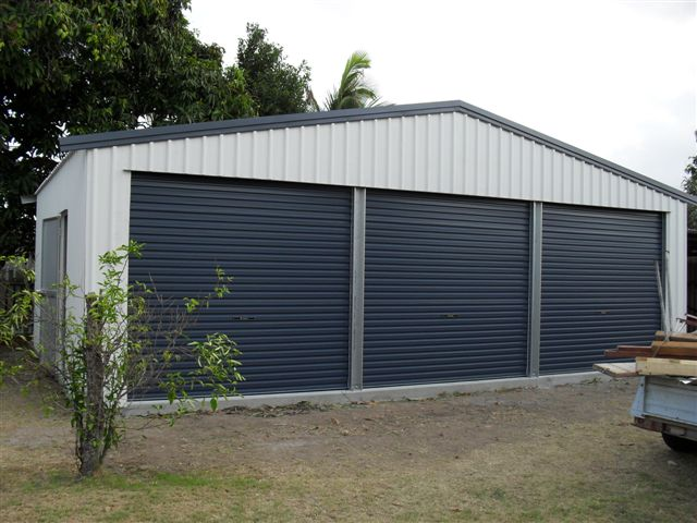 Triple Garage Busselton Sheds Plus