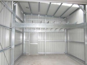 Mezzanine floors busselton sheds plus for How to build a mezzanine floor in a garage