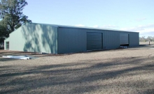 Large Industrial Busselton Sheds Plus
