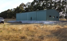 Shed Sliding Doors 2  Busselton Sheds Plus