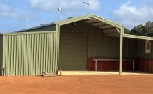 Aussie Barn Style with Lean to