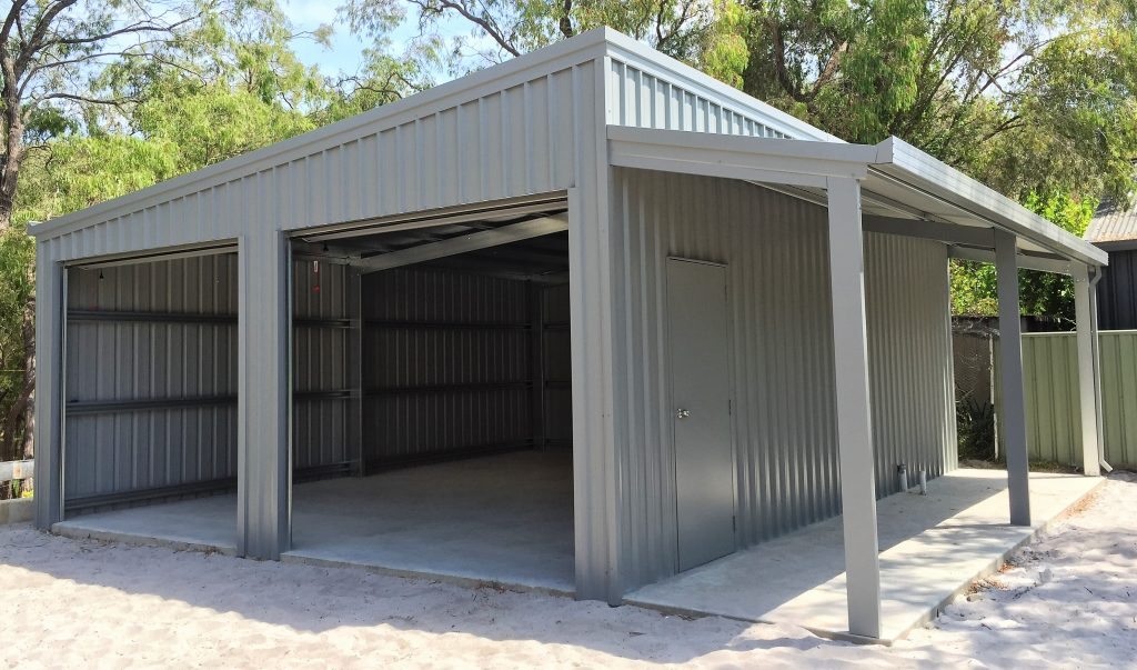 Shed with Fish Cleaning Bay